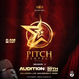 Pitch perfect naija show audition