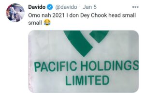 Davido join father's company