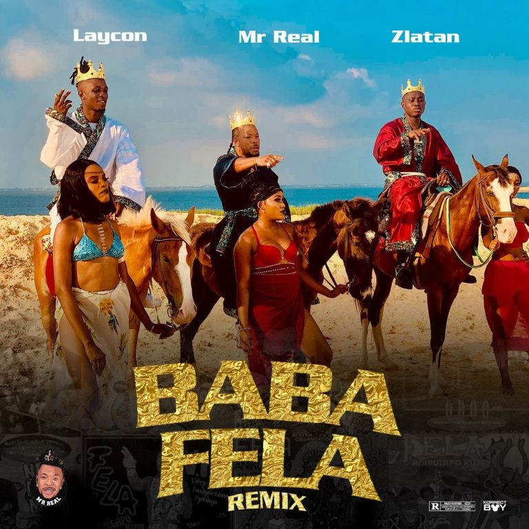 Mr real ft Laycon ft zlatan - baba vela remix