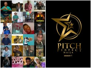 Jos artists perform in Pitch perfect