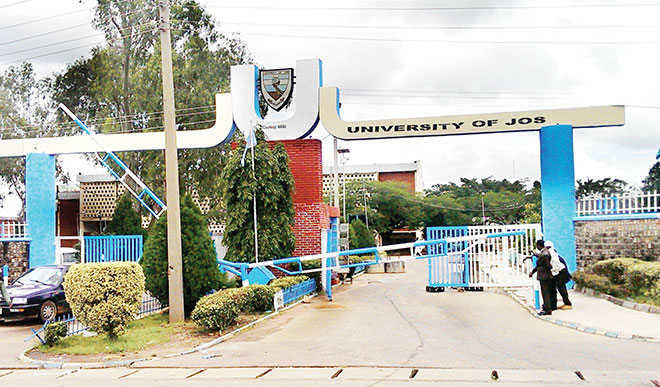 Village hostel student of the university of jos on protest for light blank out