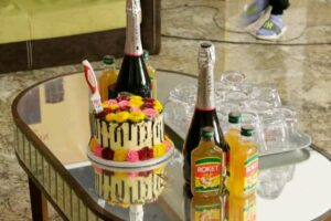 Mint celebrated on her birthday at pitch perfect naija show