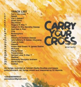 Heavenly Dawap - carry your cross