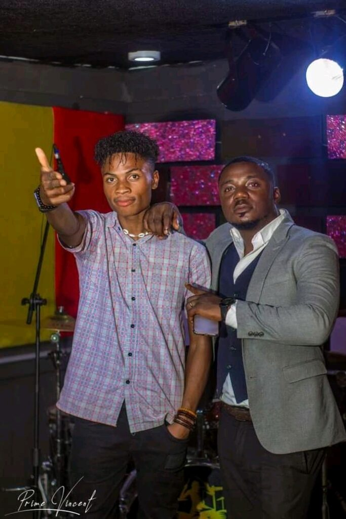 Auxboy got signed to BED Music Africa