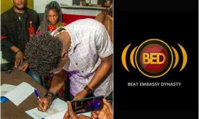 Auxboy signed to BED Music Africa