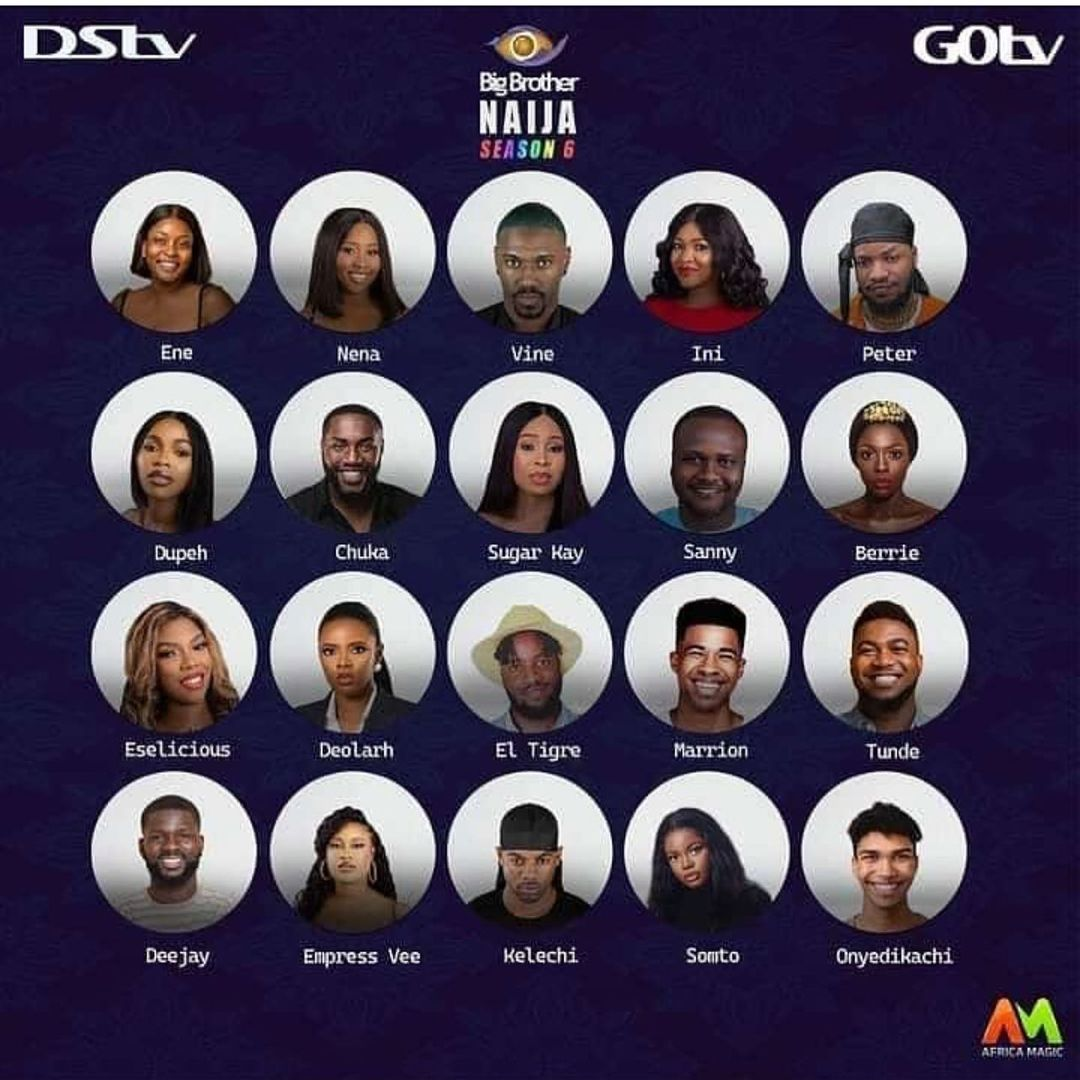 Names of bbnaija housemate